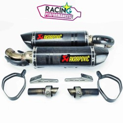 Silencieux akrapovic carbone ducati 696|796|1100 Monster 08-14