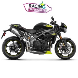 Embout Arrow carbone Silencieux Speed Triple 1050 2011-2020