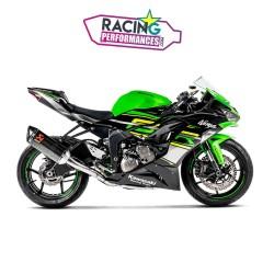 Ligne complète akrapovic racing kawasaki Zx6r ZX636 ninja 2009-2020