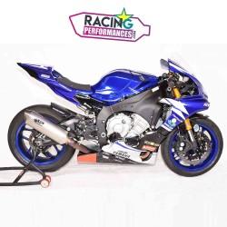 Ligne complète spark force inox | titane Yamaha YZF R1 M 2015-2020