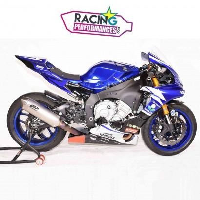 Ligne complète spark force inox | titane Yamaha YZF R1 2015-2020