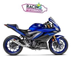 Ligne complète akrapovic racing Yamaha yzf R3 300 | Mt-03 2015-2021
