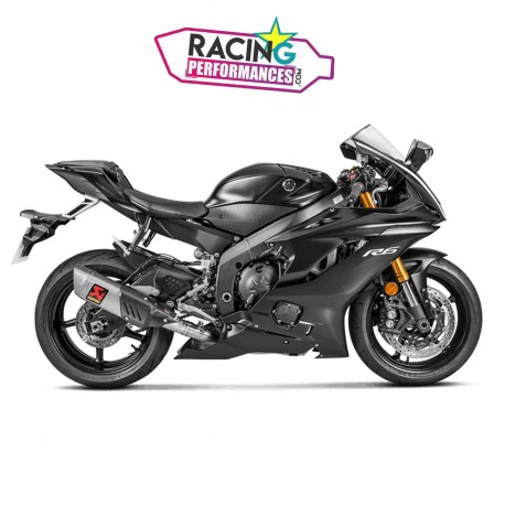 Ligne complète akrapovic racing   evolution Yamaha Yzf R6 2008-2019