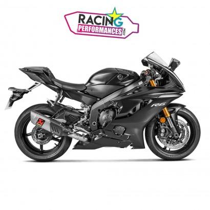 Ligne complète akrapovic racing | evolution Yamaha Yzf R6 2008-2019