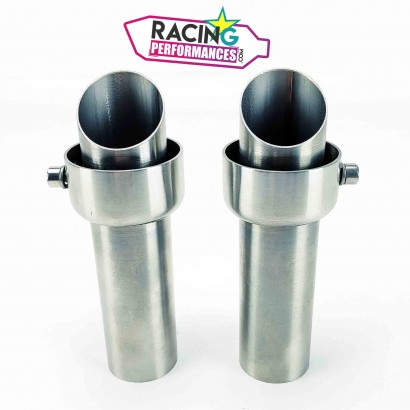 Db killer | Chicanes | Akrapovic Ducati 848-1098-1198 ø53mm droites