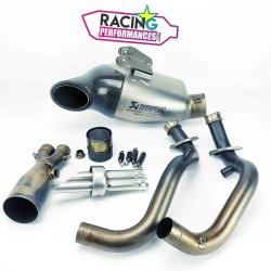 Ligne complète akrapovic racing Yamaha MT-07   700 Xsr & 700 Tracer 2014-2020