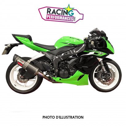 Patte de fixation inox support d'échappement Devil Kawasaki ZX6R 2009-2020