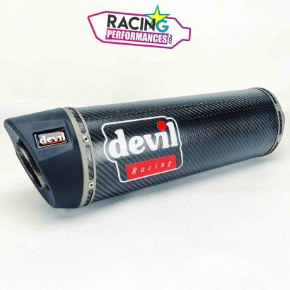 Silencieux neuf Devil Racing Carbone 360mm ø50mm/55mm