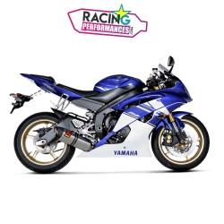 Ligne complète akrapovic evolution Yamaha R6 2006-2020