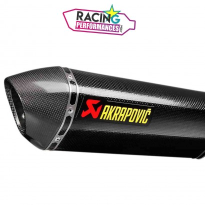 Embout akrapovic carbone de rechange hexagonal V-EC286