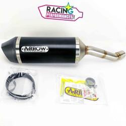 Silencieux Slip-on Arrow Race Tech Alu Dark Suzuki GSX-R 250 2017-2021